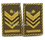 Paio Tubolari Ricamati Sergente Maggiore Capo QS E.I.