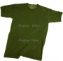 T-shirt cotone verde oliva