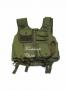 Tactical vest 7 tasche verde